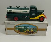 Vintage The First Hess Truck Gasoline Truck W/ Original Box 1982 Red Switch