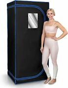 Portable Steam Sauna Home Sauna Infrared Spa Therapy Detox Heating Foot Padchair