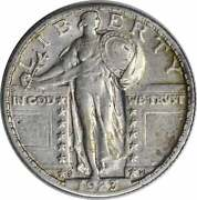 1923-s Standing Liberty Silver Quarter Choice Ef Full Date Uncertified 235
