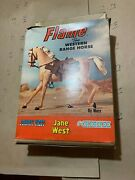 1960s Vintage Marx Johnny West Horse, Flame And Jane West Box Items