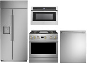 Monogram Pro Package With 36 Gas Range And French Door Refrigerator