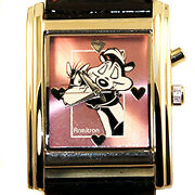 Pepe Le Pew And Penelope, Rare Musical Warner Bros Nib Limited Edition Watch 199
