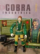 Gi Joe 2005 Horror Show Oktober Guard Uncracked 100 Complete And Card