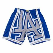 Mens Mitchell And Ness Mlb Big Face Short Los Angeles Dodgers