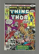 Marvel Two-in-one 22 1976, Marvel Fn/vf 7.0 Thor, The Thing, The Devourer