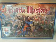Battle Masters Vintage Board Game 1992 Mb New In Box Sealed