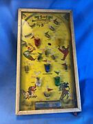Vintage 5-in-1 Electric Poosh-m-up Pinball Baseball Northwestern Products Co