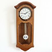 Adler Vintage Wall Clock Very Rare Westminster Chime Pendulum Electric Germany
