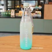 New Starbucks 2021 China Happy Camp 25oz Plastic Water Bottle Cup