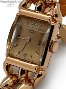Universal Geneve French Rose Gold Ladies Watch