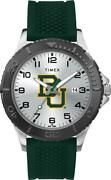 Menand039s Baylor University Bears Gamer Watch Timex Silicone Watch