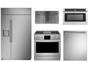 Monogram Pro Package With 36 Dual Fuel Range And 48 Side By Side Refrigerator
