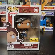 Funko Pop Animation The Legend Of Korra 801 Hot Topic Exclusive With Protector