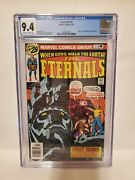 Cgc 9.4 Eternals 1 Origin And 1st Appearance Of The Eternals Marvel 07/76