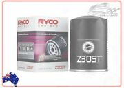 Ryco Syntec Oil Filter For Holden H Series 1969-1970 Ht 3.0 186red Wagon Z30st