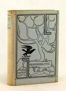W B Yeats Signed First Edition 1916 Responsibilites And Other Poems Hardcover
