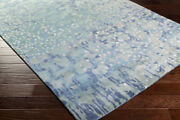 Abstract Area Rugs 80 Wool 20 Viscose Hand Knotted Medium Pile For Home Decor