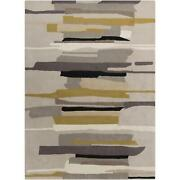 Abstract Area Rugs 100 Wool Hand Tufted High Pile For Home Decor
