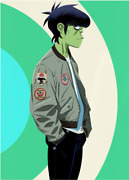 Gorillaz X Fred Perry Patch Detail Bomber Jacket Andmiddot Rare And Completely Sold Out