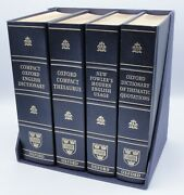 Compact Oxford English Dictionary Andthesaurus, Fowler's English And Thematic Set