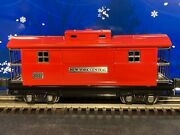 Mth Tinplate O-gauge 2800 Series Red Nyc Caboose 2817 - New And Beautiful