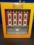 Vintage Mth 4-story Building - Main Street Office Supplies - 30-9013 Excellent