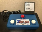 Track And Field With Controllerfor Atari 400 800 600xl 800xl 1200xl - Tested
