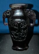 Antique Chinese 19th Century Russian Amethyst Vase 7 H