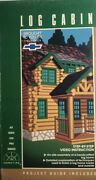 How-to Video Guidelog Cabin By Hometime Vhs-tested-rare Vintage-ships N 24 Hour