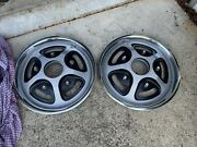 """Nos 1977-1979 Ford F Series Bronco Front Hubcaps 15"""""""