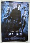 """The Matrix 1999 Sonos Lightning One Sheet Movie Poster 28"""" X 41"""" Rolled"""