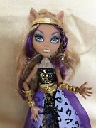 Monster High 2013 13 Wishes Clawdeen Wolf Haunt The Casbah Doll In Outfit Andshoes