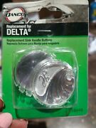 Danco Delta/delex 88698 Replacement Sink Handle Buttons Hot And Cold - New