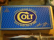 1995 Limited Edition Colt Bowie Knife 10 Blade  Knife Weights 1lb 10 Oz.