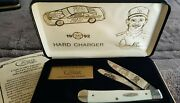 New Vintage Davey Allison 1992 Hard Charger Case Xx Collectors Knife And Case