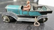 Karl Bub Kbn Tin Plate Key Wind Up Open Convertible Touring Car