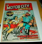 Ag21 Underground Comic 1969 Poor Fair Motor City Rip Off Press - Taped Spine