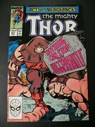 Thor 411 Vf 1st Appearance Of The New Warriors Juggernaut