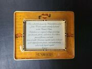 John Wind Maximal Art L' Amour 14kt Gold Plated Pewter Picture Frame