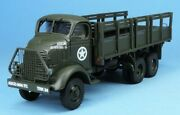 1/48th Gasoline Wwii Us Gmc Afkwx353 2-1/2 Ton Truck Hard Top