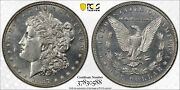 1887/6 Morgan Silver Dollar 1 Pcgs Ms 64 Proof Like Prooflike Pl 1887 Over 6