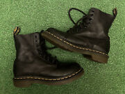 Doc Dr Martens 1460 Pascal Wanama Olive Green Boots Womenand039s Size Us 5 Eu 36