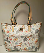 Disney Dooney And Bourke Disney Winnie The Pooh Tote With Registration And Tags