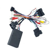 For 2012-2018 16pin Ford Focus 9.7'' 10.4'' 12.4'' Radio Wiring Harness + Canbus