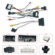 16pin Car Radio Wiring Harness W/ Canbus Box For Ford Kuga 2018-19 Focus 2012-18