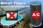 Orca Filters Reusable Pool Filter – Above Ground Pool Filter With Patented