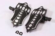 Front Footpegs Footboards Pegs Mini 4 Harley Touring Road Electra Glide Street