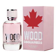 Wood By Dsquared2 3.4 Oz Edt Perfume For Women New In Box