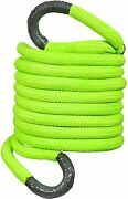 Asr Offroad Kinetic Recovery Rope, Heavy-duty Tow Strap -1 X 30' Safety Green
