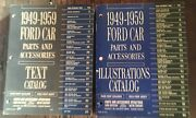 1949 - 1959 Ford Car Parts And Accessories Books / Catalogs
